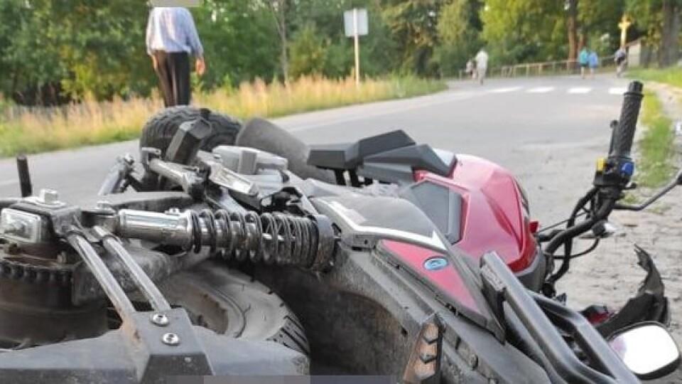 11-річна дівчинка, яку на Волині збив мотоцикліст, - у важкому стані