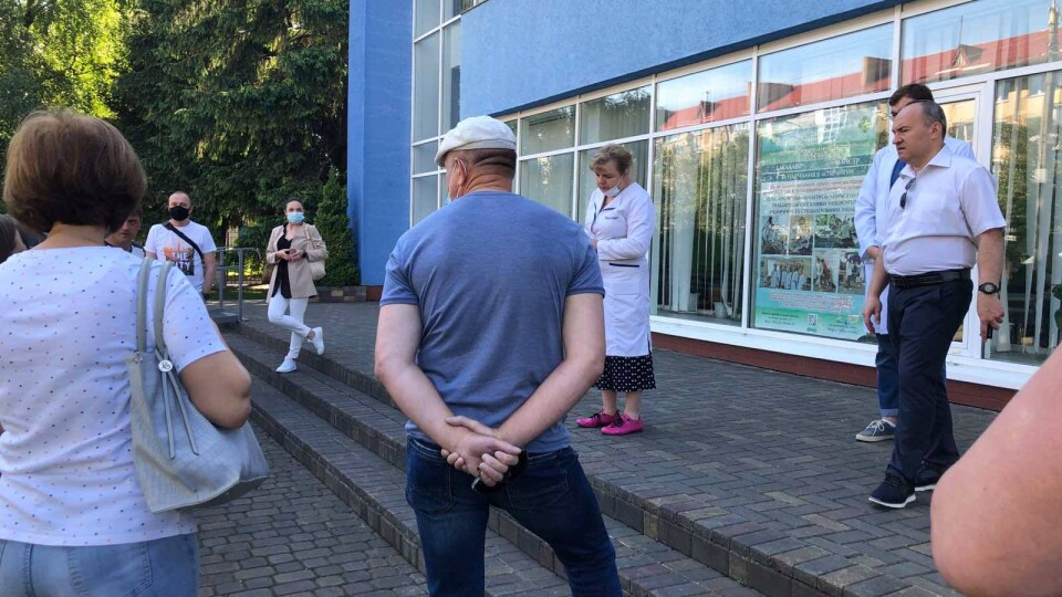 У Луцьку запрацював центр масової вакцинації
