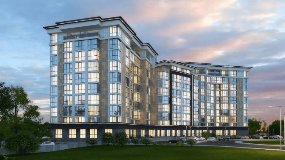 У Луцьку з'явиться перший житловий комплекс преміумкласу. Продаж квартир уже стартував
