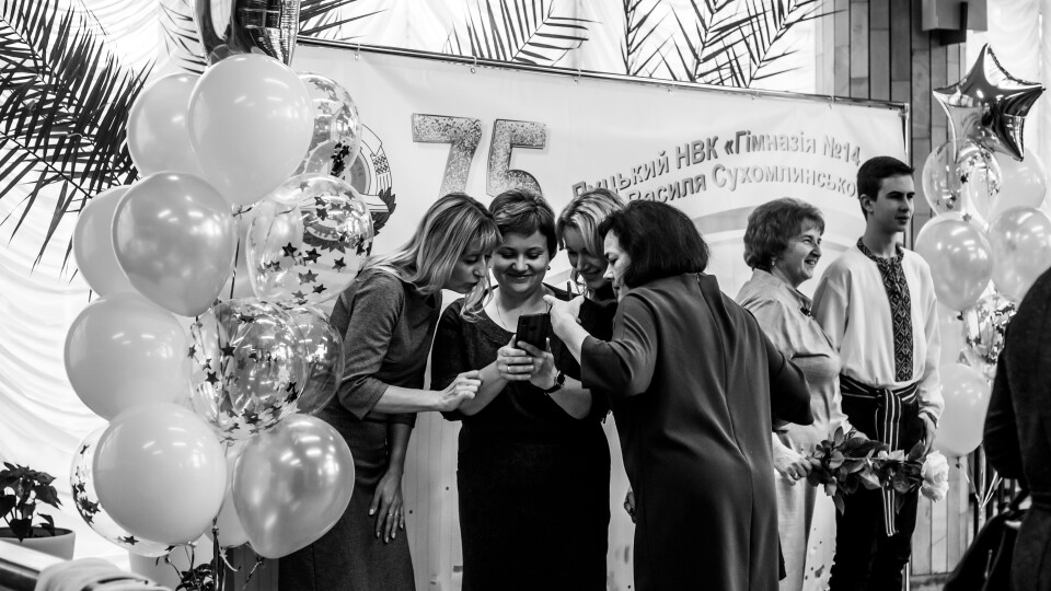 Луцька гімназія №14 відсвяткувала 75 років. Хто прийшов привітати. ФОТО
