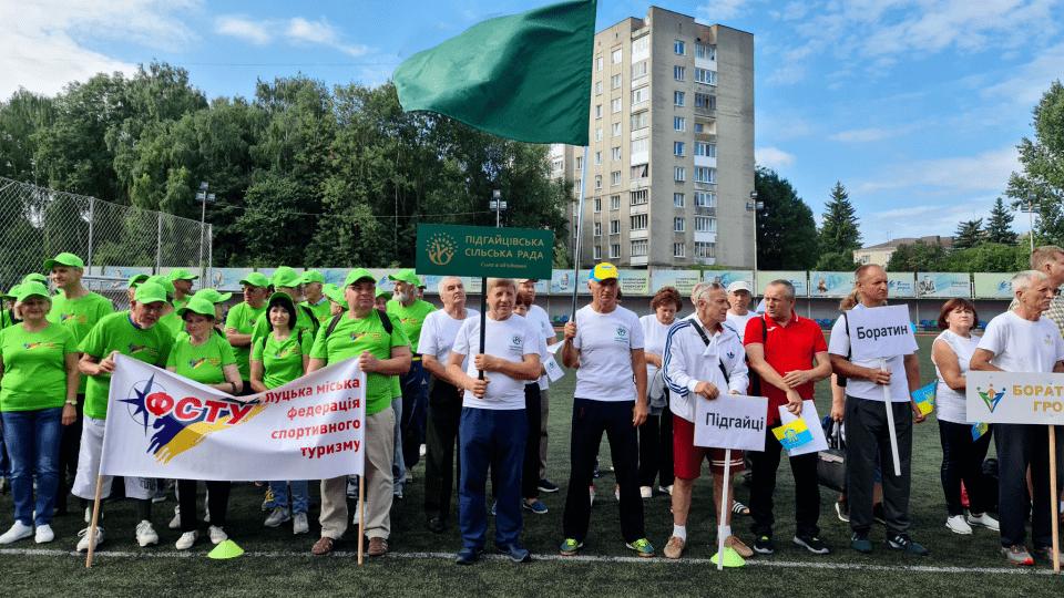 Підгайцівська громада виборола 11 медалей на літній сеньйоріаді