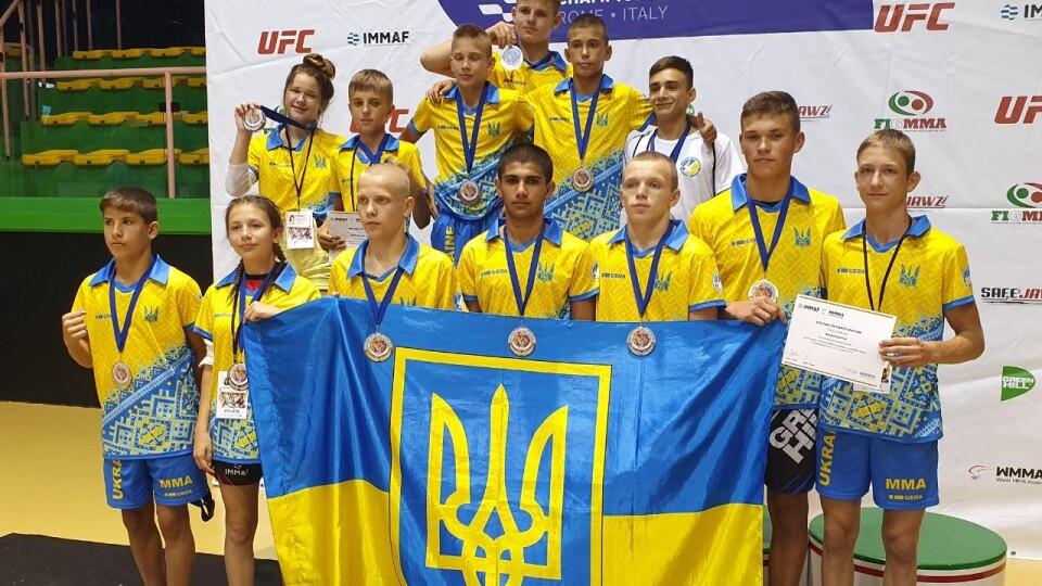 13-річний волинянин став чемпіоном світу з ММА