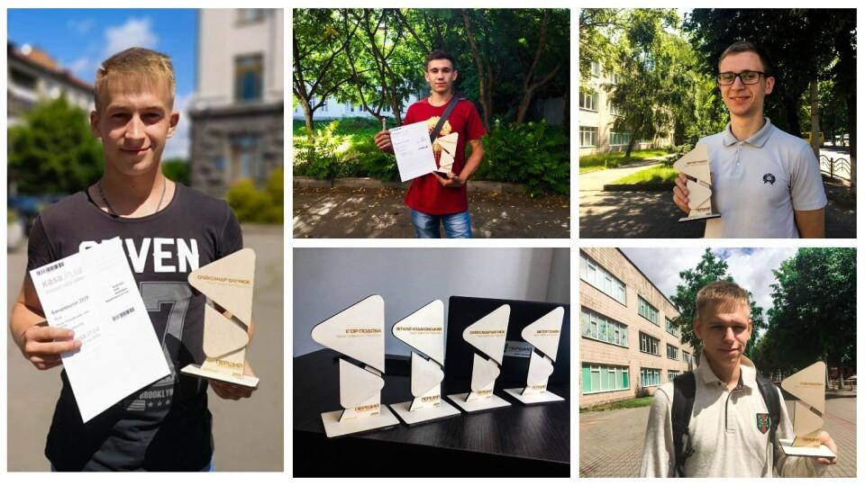 «Перший» вручив нагороди героям місяця: студентам, які врятували людину