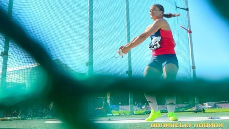 Волинянка виборола «золото» на чемпіонаті України з легкої атлетики