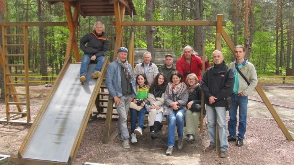 На Шацьких озерах влаштували міжнародний пленер художників