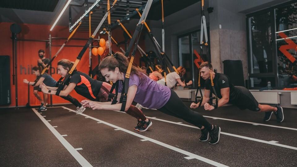 Тренуватися 45 хвилин  - ефективно:  фітнес-клуб hiitworks