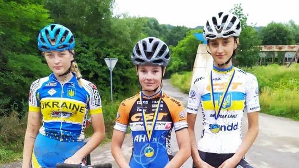 Волинянки завоювали 14 медалей на чемпіонаті України з велосипедного спорту