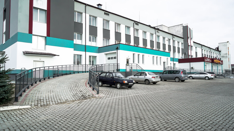 Як змінилося після реконструкції приймальне відділення лікарні у Любомлі