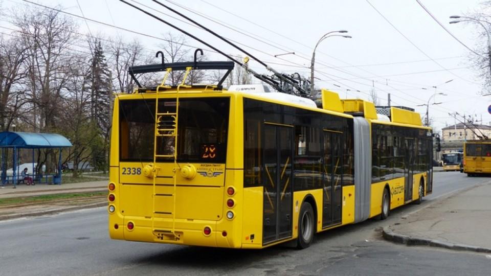 Швейцарські тролейбуси, які хотіли купити для Луцька, їздитимуть іншими містами України