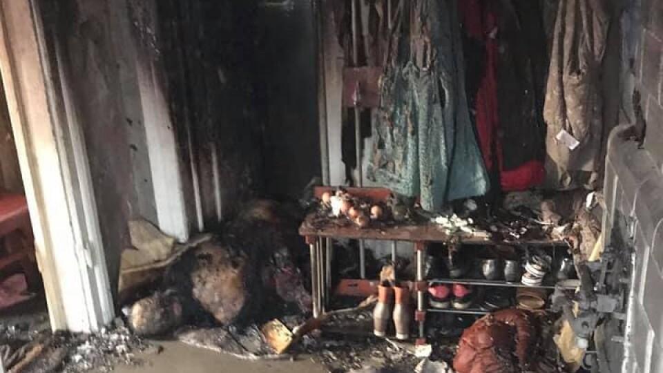У Луцьку на Шевченка  –пожежа. Вогнеборці врятували дитину. ОНОВЛЕНО
