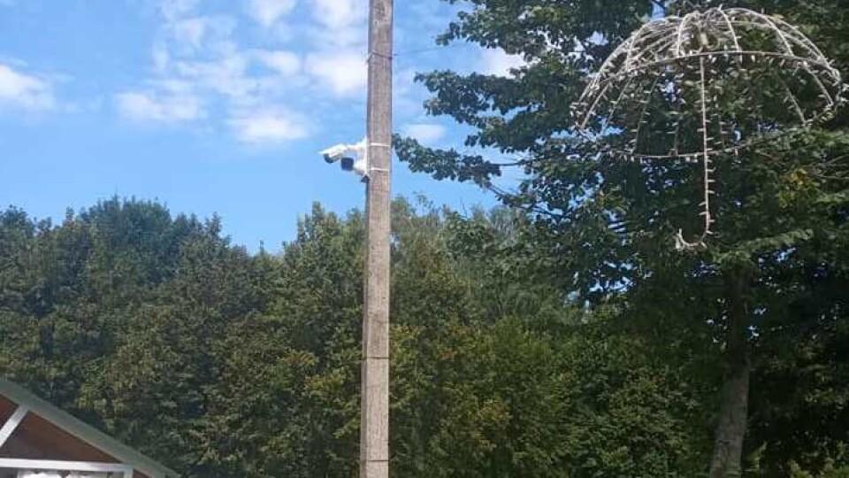Система відеоспостереження в Центральному парку Луцька. 22 камери вже тестують