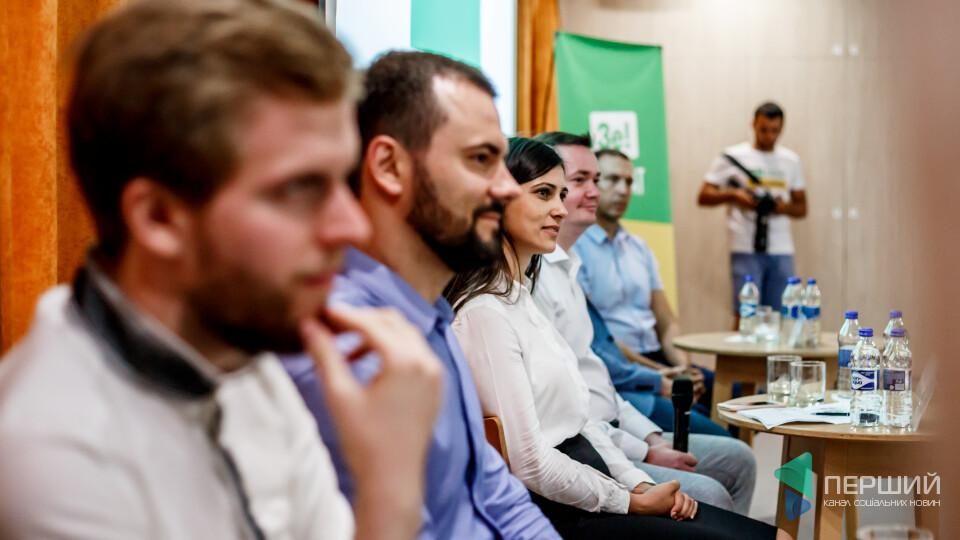 Презентація  «Слуги народу» у Луцьку. Хто такі і що обіцяють