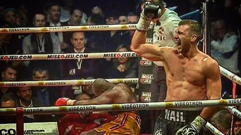 Український боксер Гвоздик здобув титул чемпіона світу. ВІДЕО