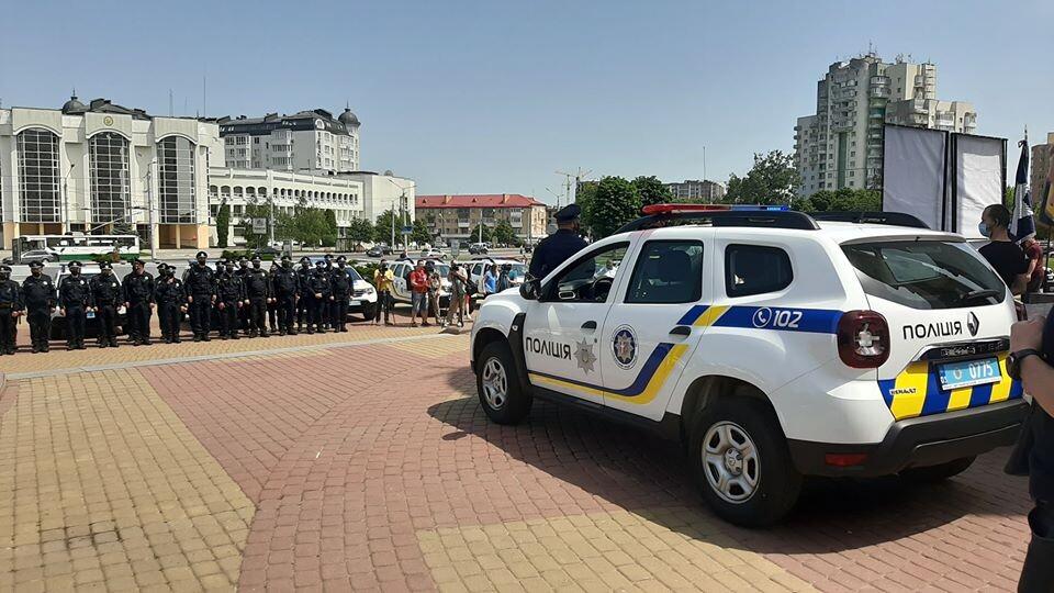 Волинським  «шерифам» та головам ОТГ вручили ключі від нових авто