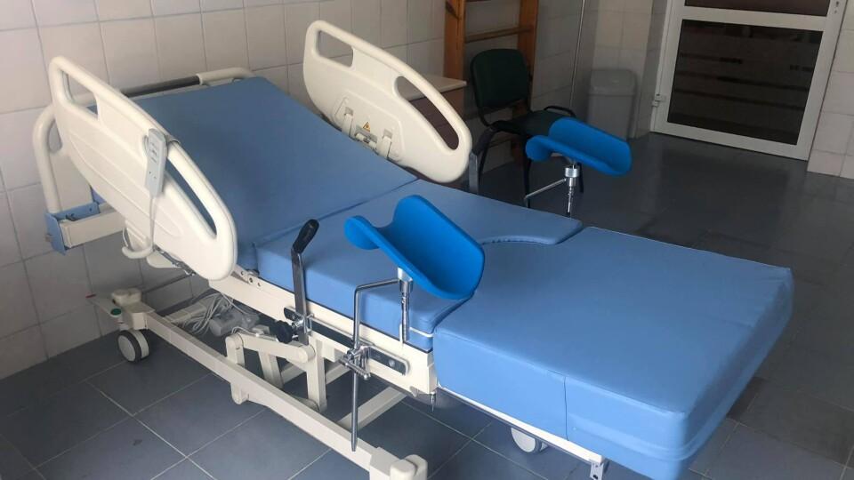 Луцький пологовий придбав нові ліжка-трансформери для породіль