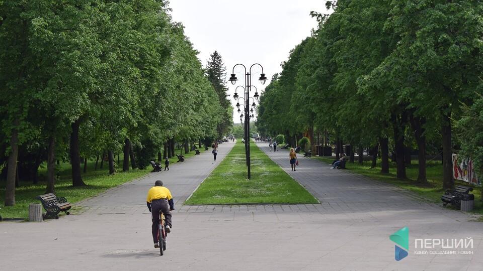 Як ремонтуватимуть центральну алею луцького парку