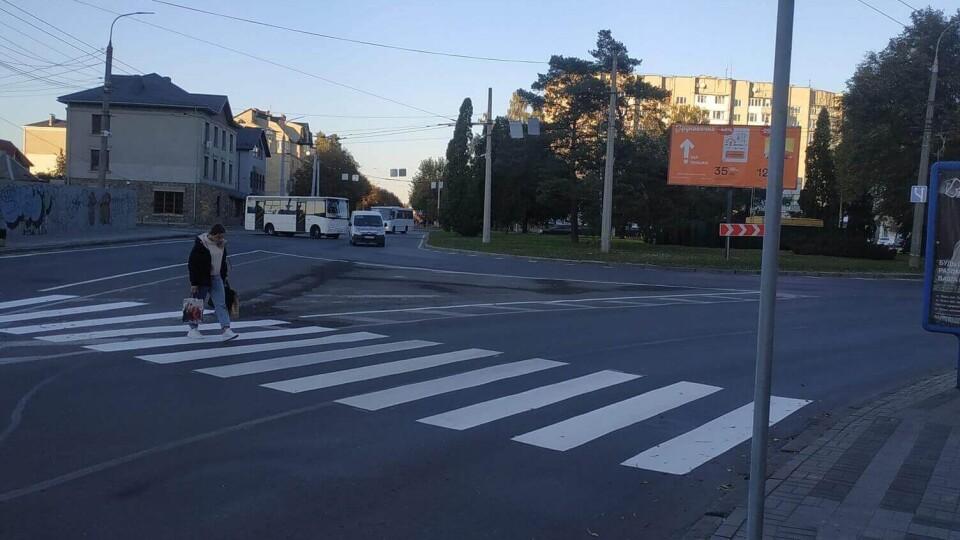 У Луцьку біля нового переходу облаштують й острівець безпеки. Відео