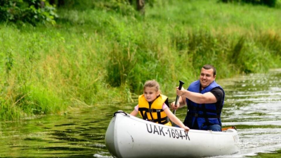 Сімейні перегони на човнах. У Луцьку оригінально відзначили День батька