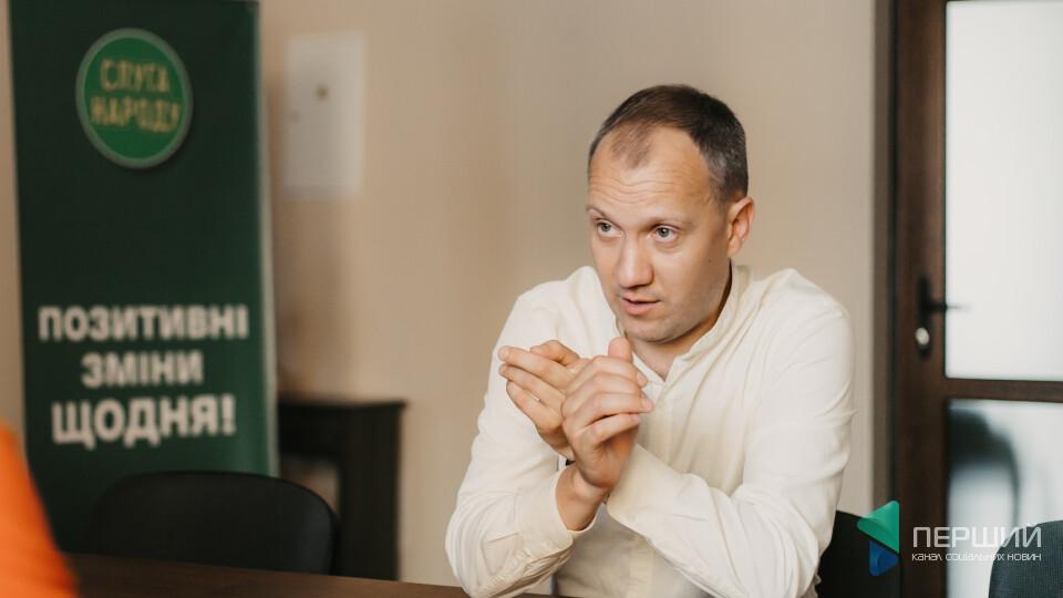 «Я знову в турборежимі», – голова «Слуги народу» на Волині Валерій Стернійчук
