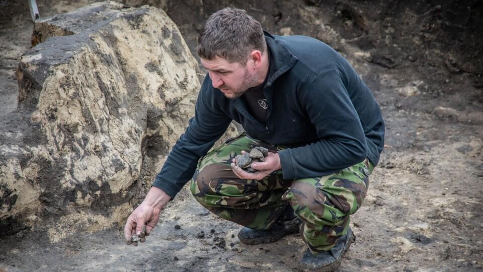 У Млинові провели розкопки. Знайшли кераміку, кістяні ковзани, печі Х століття