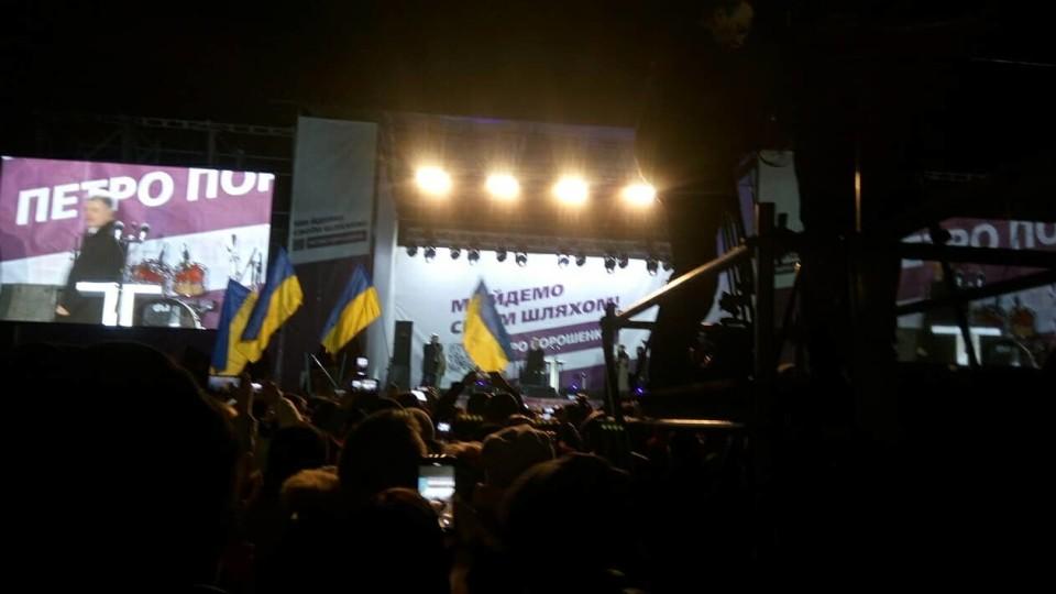 На Волинь приїхав Порошенко. ФОТО