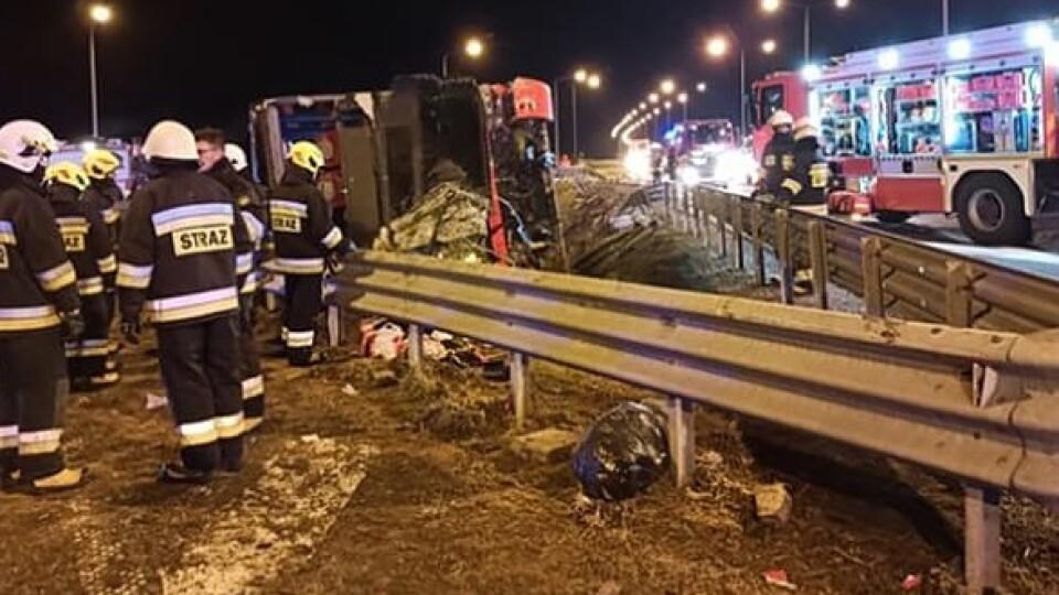 Смертельна аварія з українцями у Польщі: водію автобуса загрожує 8 років тюрми