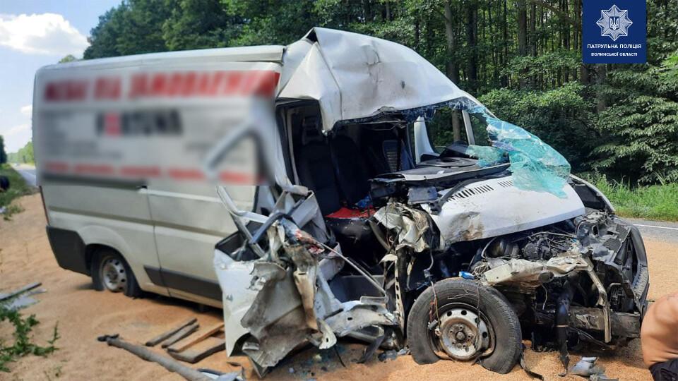 На Волині сталися дві аварії: є постраждалі