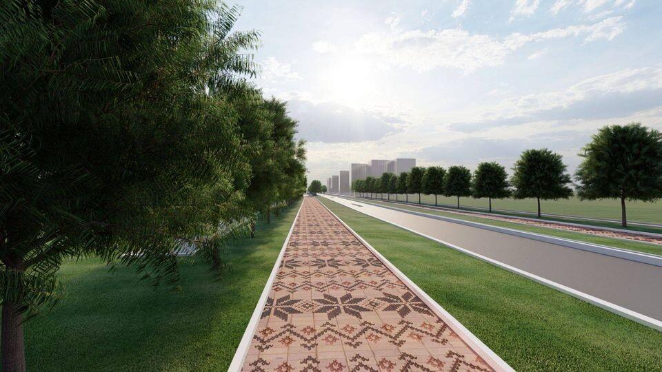 У Луцьку хочуть реконструювати пішохідні доріжки вздовж бульвару Дружби народів. Проєкт