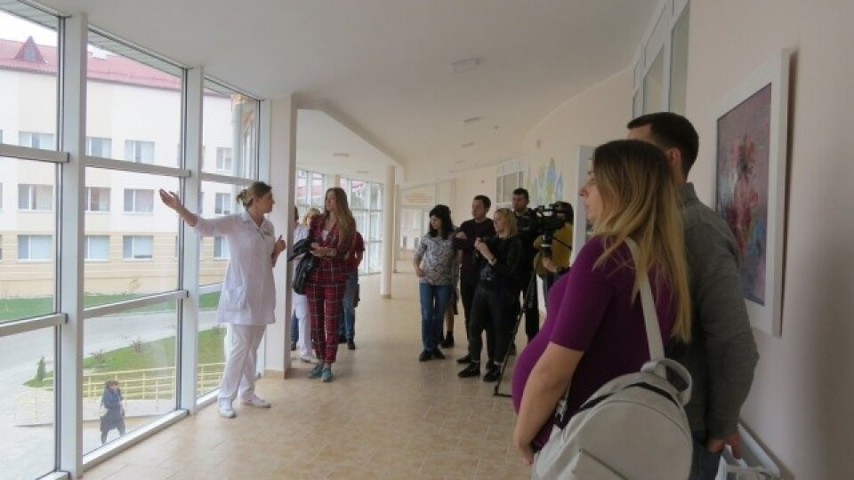 Для майбутніх батьків у Волинському перинатальному організовують екскурсії