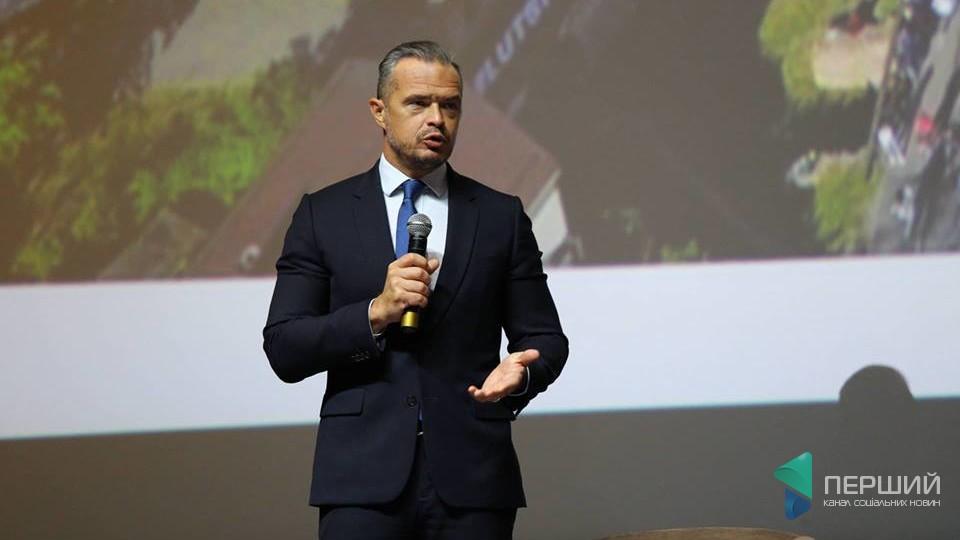 Славомір Новак у Луцьку: «Мережа доріг – це артерії економіки»