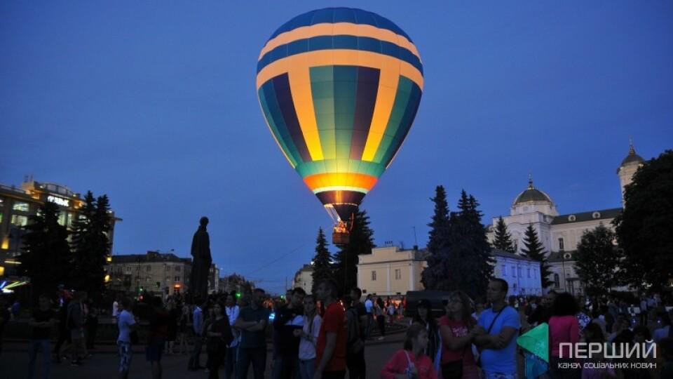 У Луцьку в червні – фестиваль повітряних куль «Аеросфера»