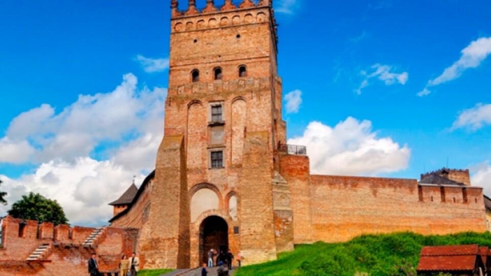 Луцький замок та Будинок Косачів потрапили до проєкту «Велика реставрація»