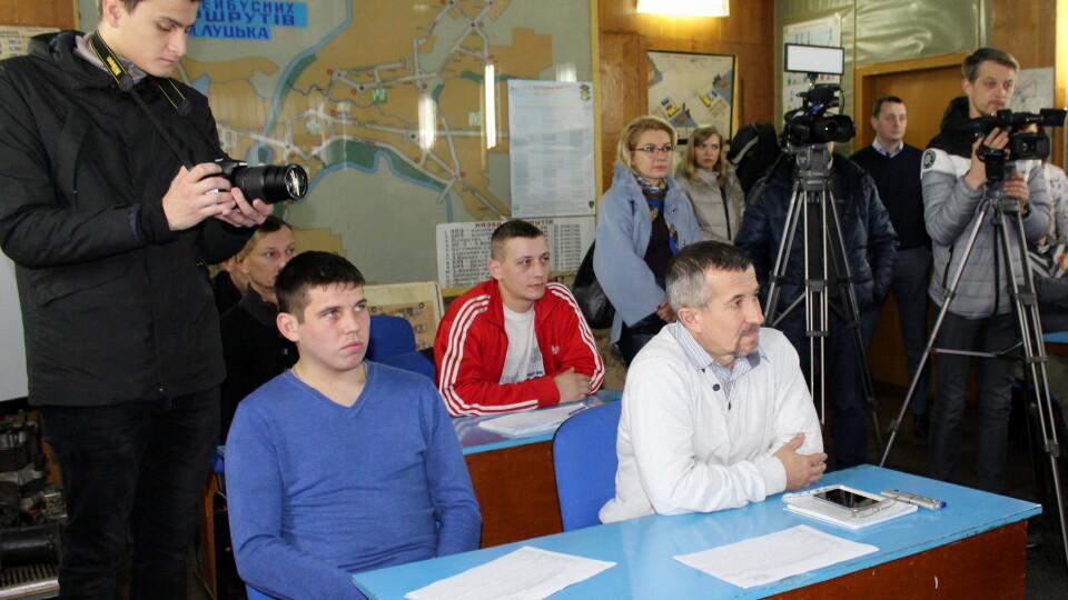 Як у Луцьку безробітних навчають професії водія тролейбуса
