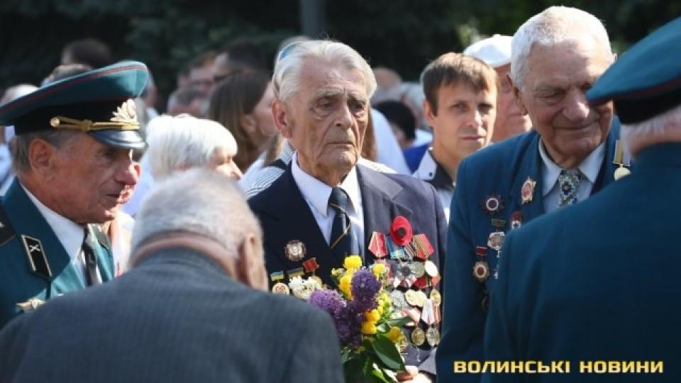 9 травня у Луцьку: фоторепортаж з Меморіалу Вічної Слави