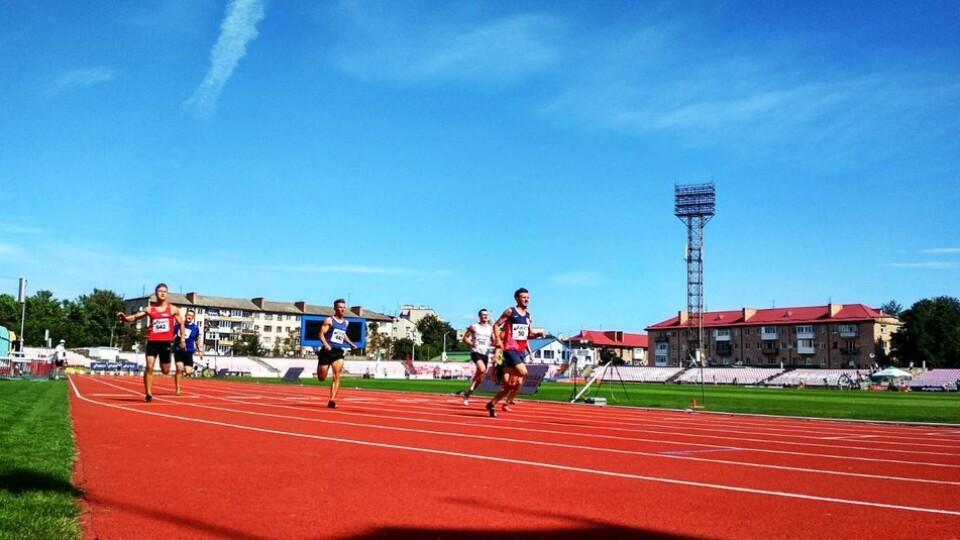 У Луцьку стартував Чемпіонат України з легкої атлетики серед дорослих. ФОТО