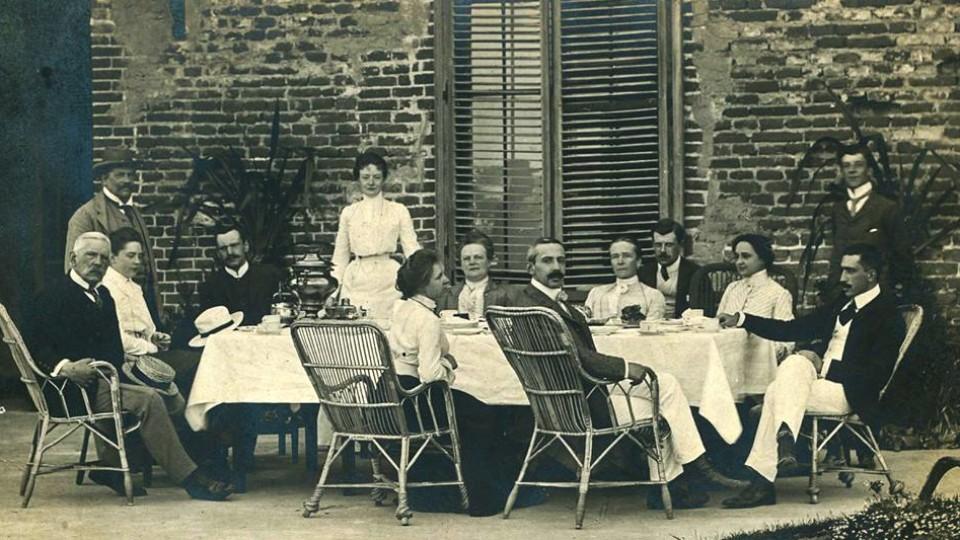 Обід Радзивіллів: трапеза в Олиці у 1903. ЗГАДАТИ ВСЕ
