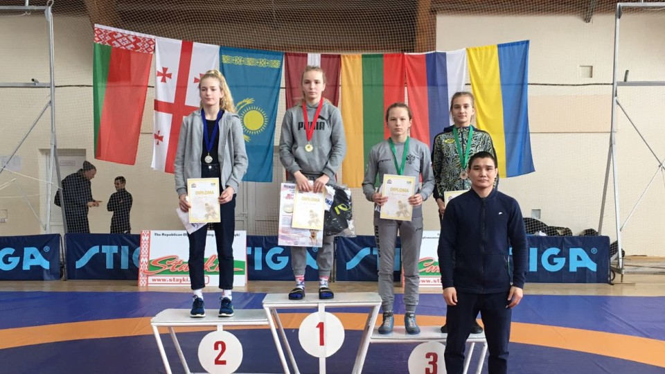 Волинська борчиня привезла додому «бронзу»  з міжнародних змагань у Мінську. ФОТО