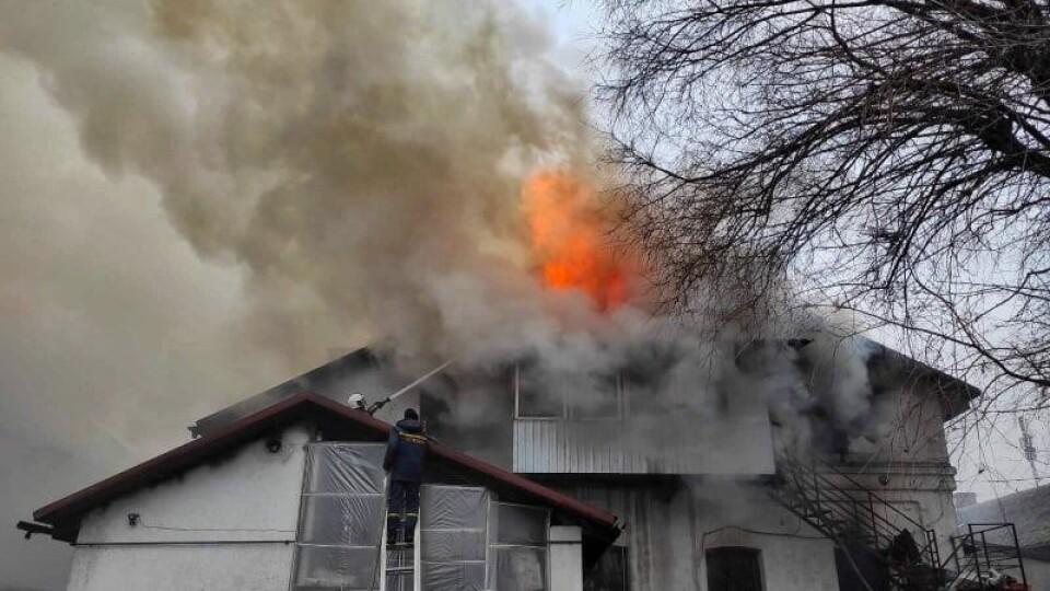 Назвали імовірну причину пожежі у кафе в Ковелі