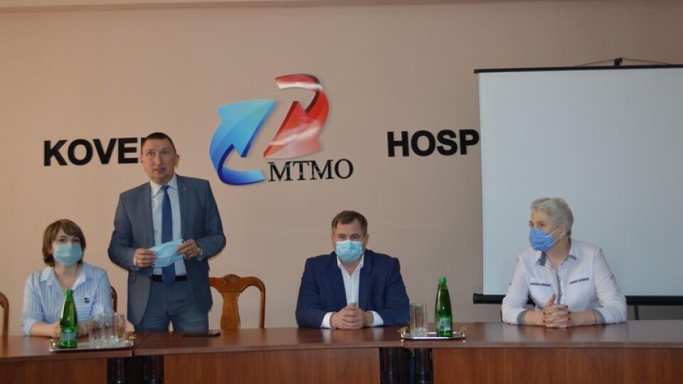 Ексголова Волиньради очолив головну лікарню Ковеля