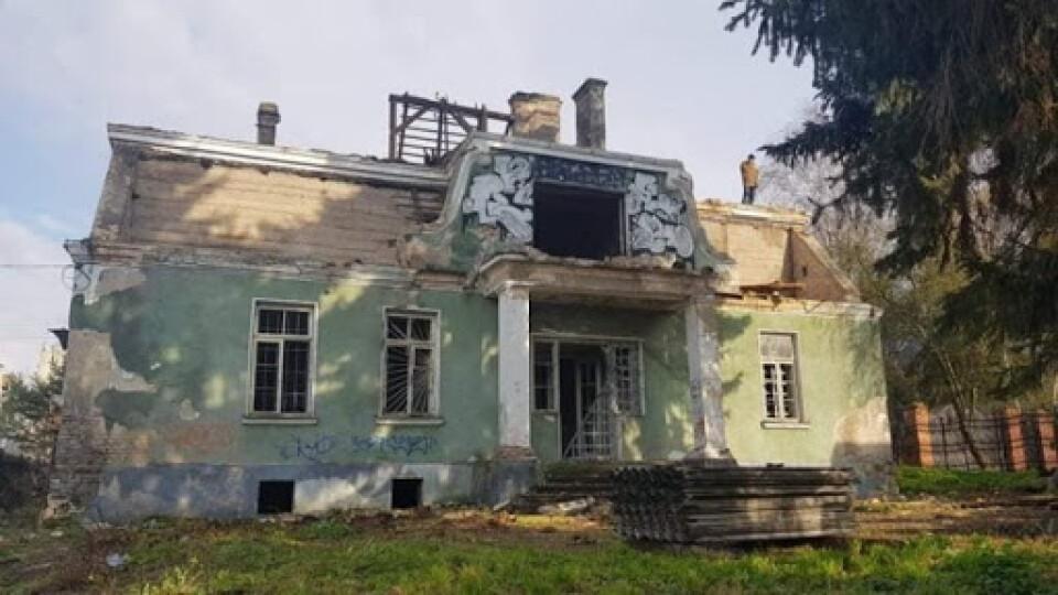 Луцький мер прокоментував знищення столітньої садиби на вулиці Ярощука