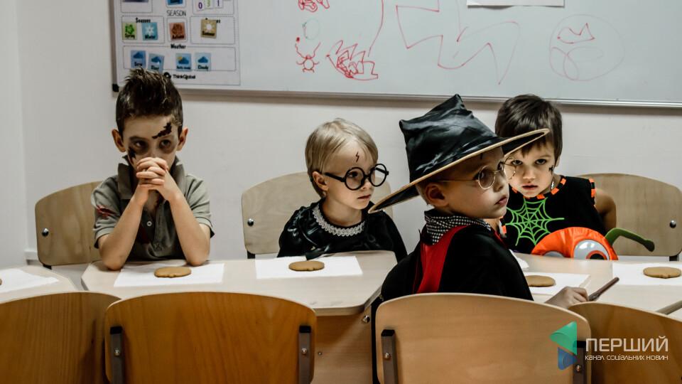 Хелловін у Гоґвортсі. Луцька школа «ThinkGlobal» влаштувала оригінальну вечірку
