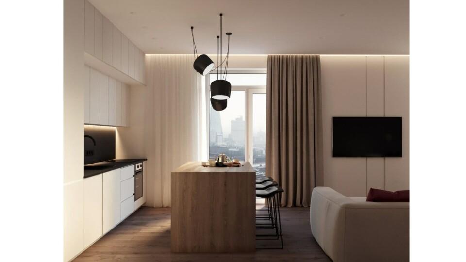 """Як облаштувати квартиру з вільним плануванням. Приклад дизайну в ЖК """"StyleUP"""""""