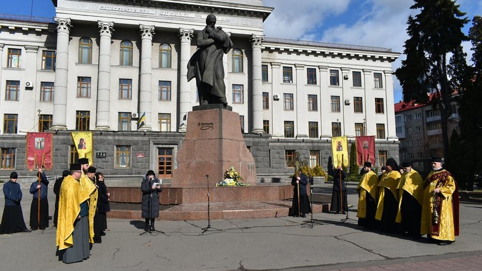 У Луцьку вшанували пам'ять Тараса Шевченка. ФОТО