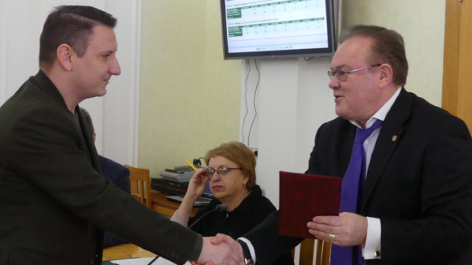 Викладачі луцького вишу отримали відзнаки від Міністерства освіти. ФОТО