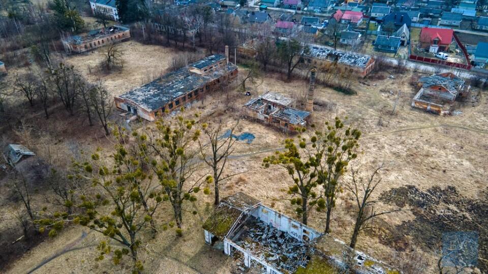 Показали, який має вигляд колишній танковий полк у Володимирі. Територію хочуть віддати