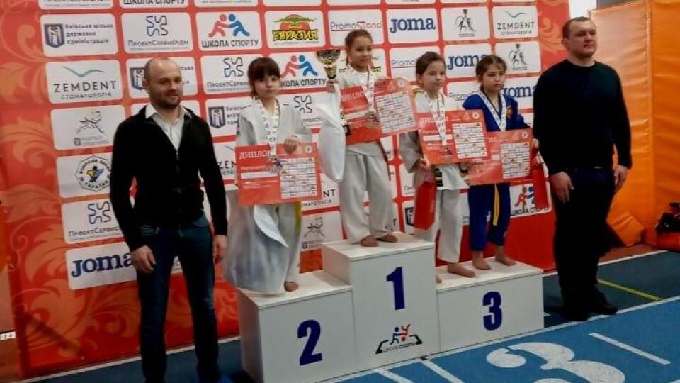 Юна дзюдоїстка з Волині виборола «срібло» на Всеукраїнському турнірі
