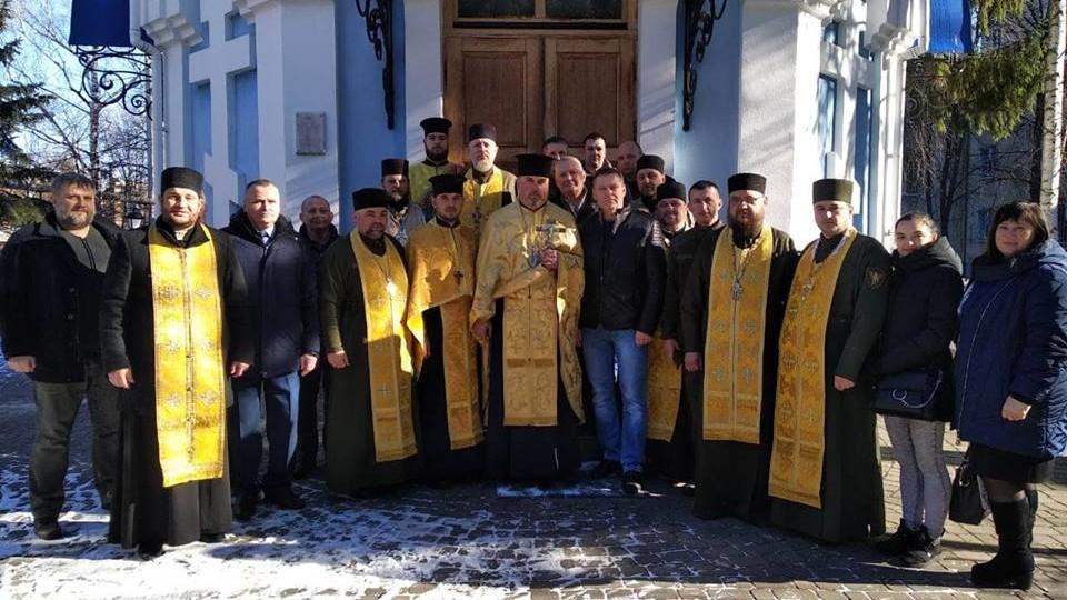 Волинські поліцейські захотіли, щоб їхній храм перейшов у ПЦУ. ФОТО