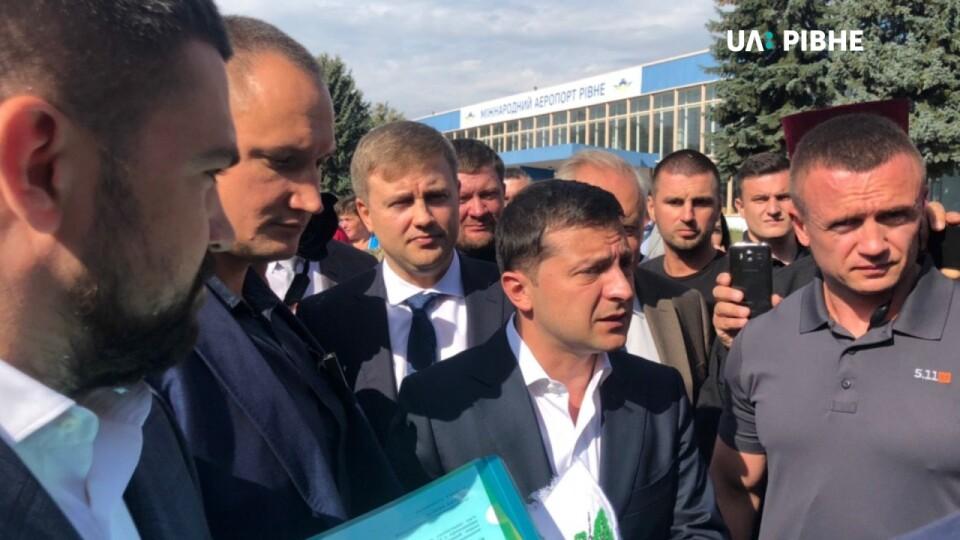 Володимир Зеленський приїхав у Рівне