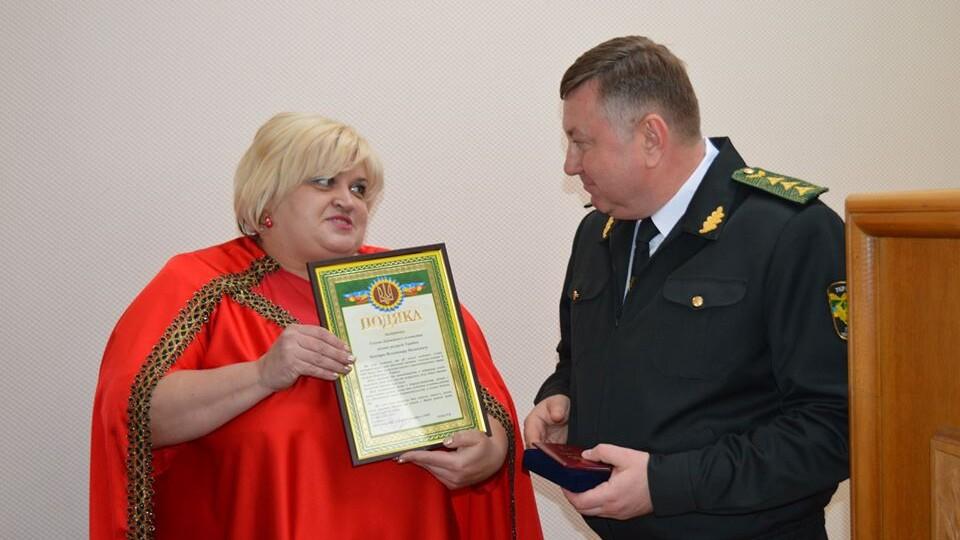 Володимир Бондар отримав орден за допомогу військовим