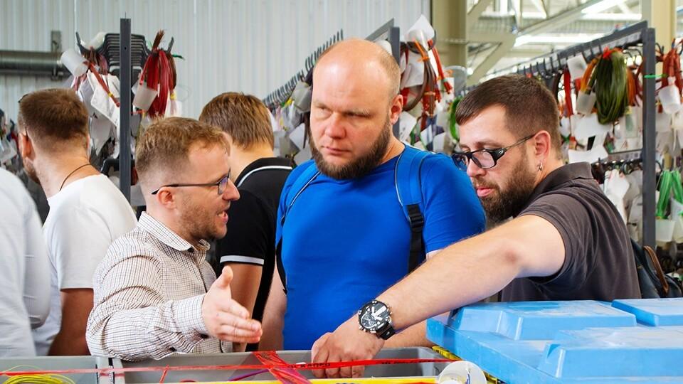 Луцький клуб бізнесменів побував на заводі «Кромберг енд Шуберт»